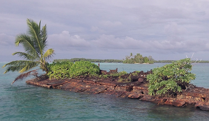 Curtin Maritime Rust Island Clean Up - Palmyra Atoll