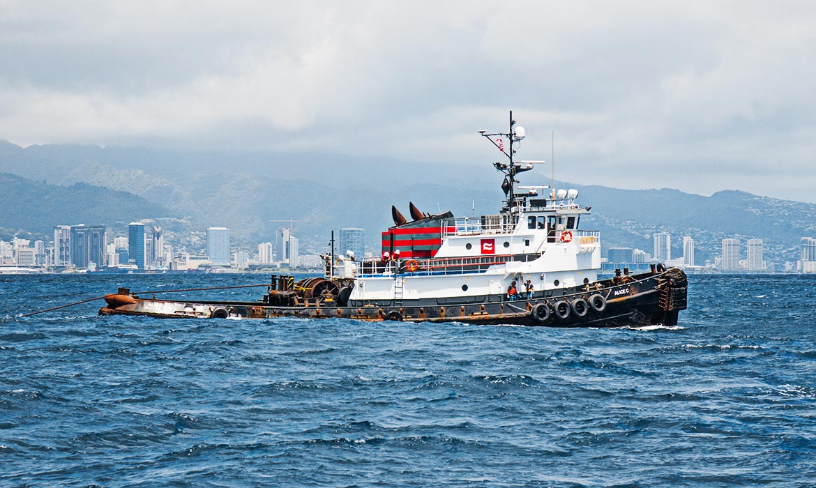 Ocean Tug Curtin Maritime Transportation Marine Towing