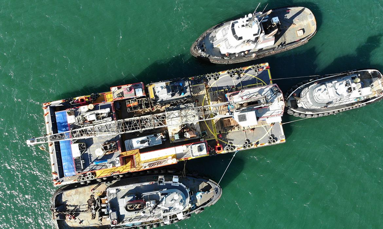 Curtin Maritime Fleet ABS Barge DB Ironbound