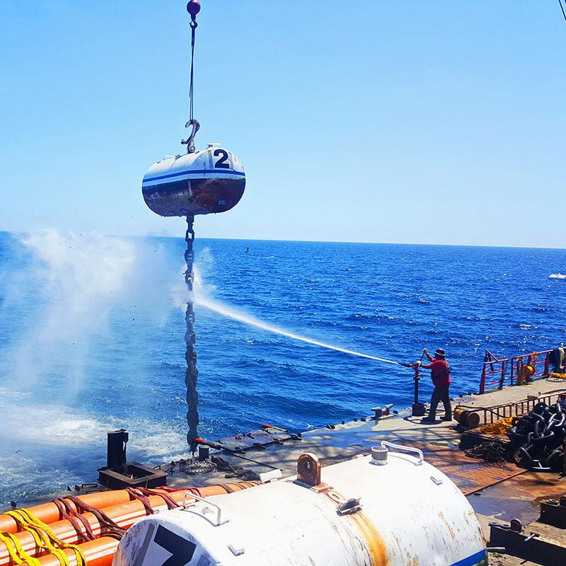 Chevron Offshore Mooring Overhauls