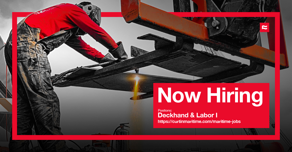 Maritime Jobs Long Beach, California. Now Hiring Deckhand & Labor Jobs.