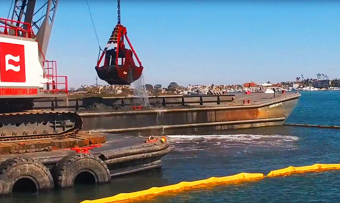 Curtin Maritime Marine Construction Dredging Waterline installation