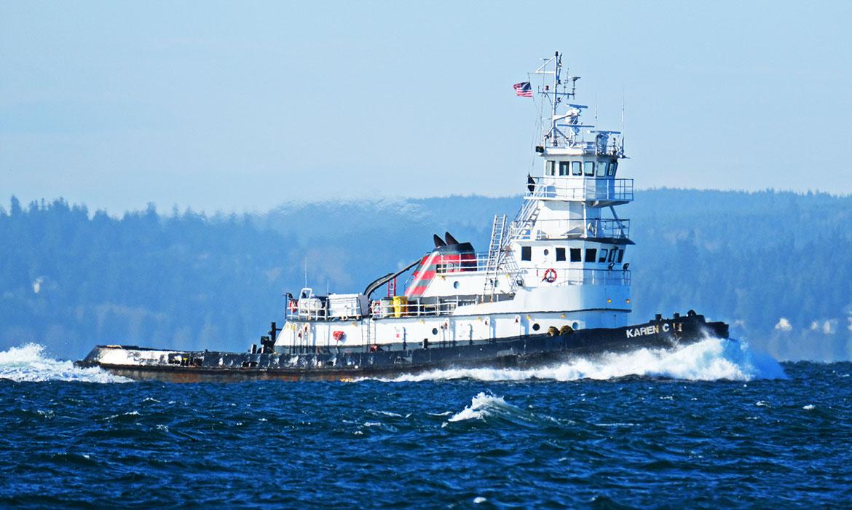 Curtin Maritime Fleet Tugboat Karen C