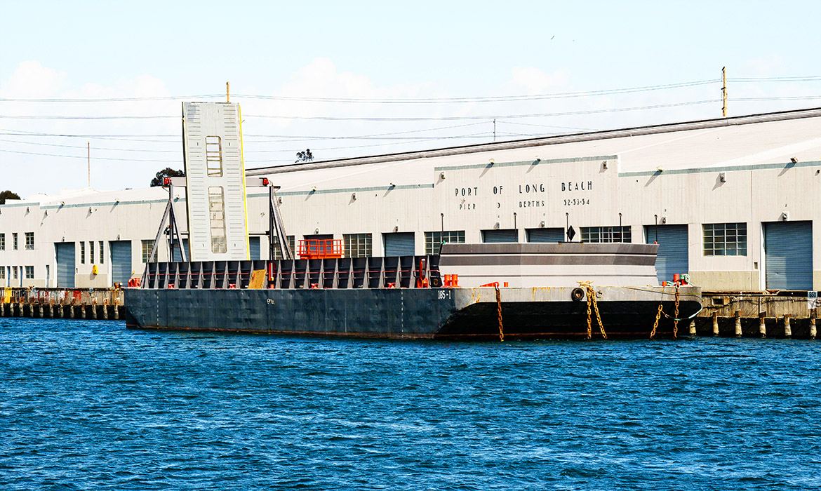 Deck Barge ABS Load Lined   Abalone Pt    Curtin Maritime
