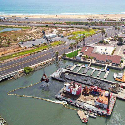 Sunset / Huntington Harbor Maintenance Dredging & Waterline Installation