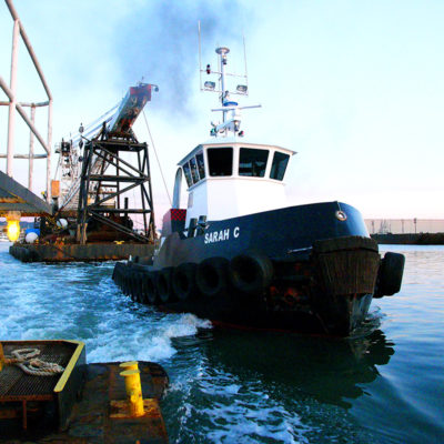 Harbor assist towing