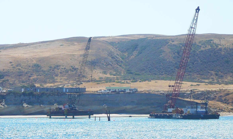 Pier Construction