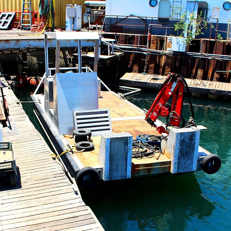 Power Scow Marine Construction