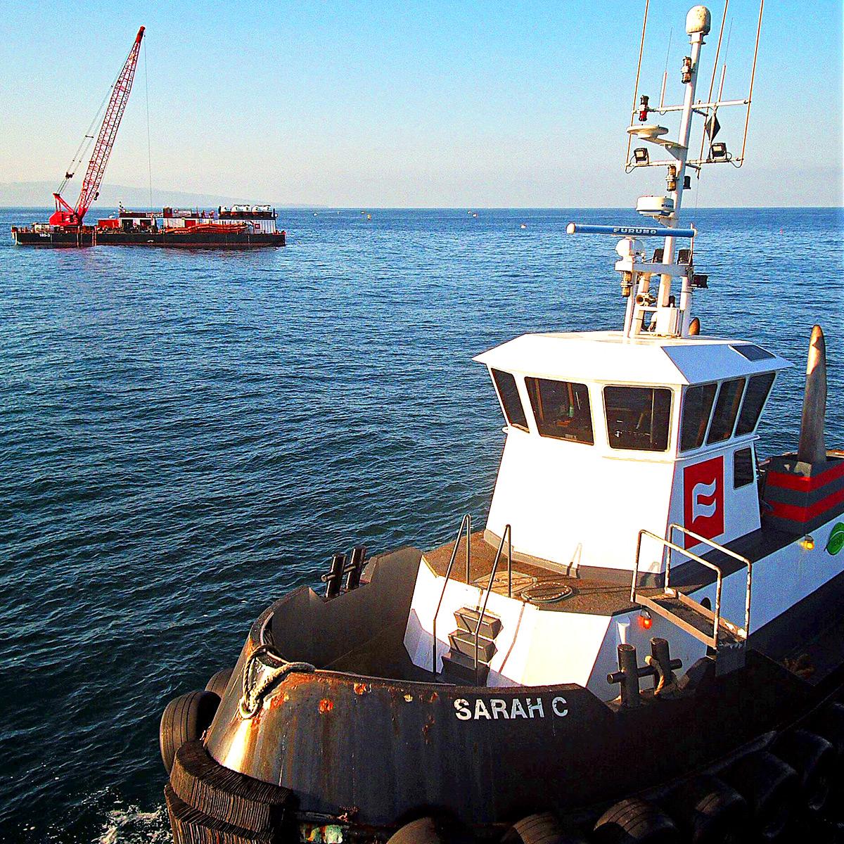 Combi Tug Port Of Long Beach Ca Sarah C Curtin Maritime Tugboat Wiring Diagram Photo Gallery
