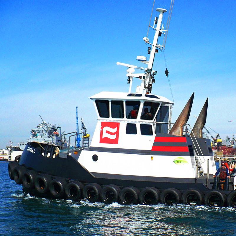 Combi Tug - Sarah C - Curtin Maritime