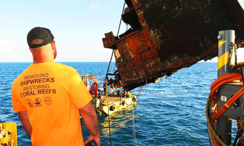 Shipwreck Removal Salvage Reef Restoration