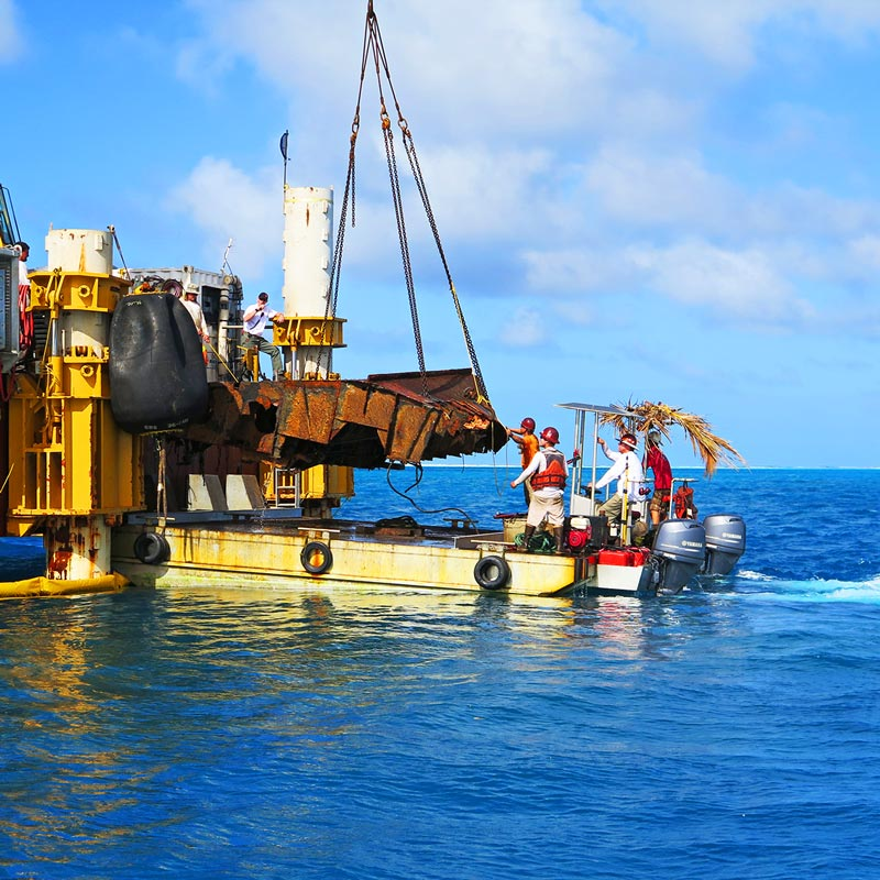 Shipwreck Removal Salvage