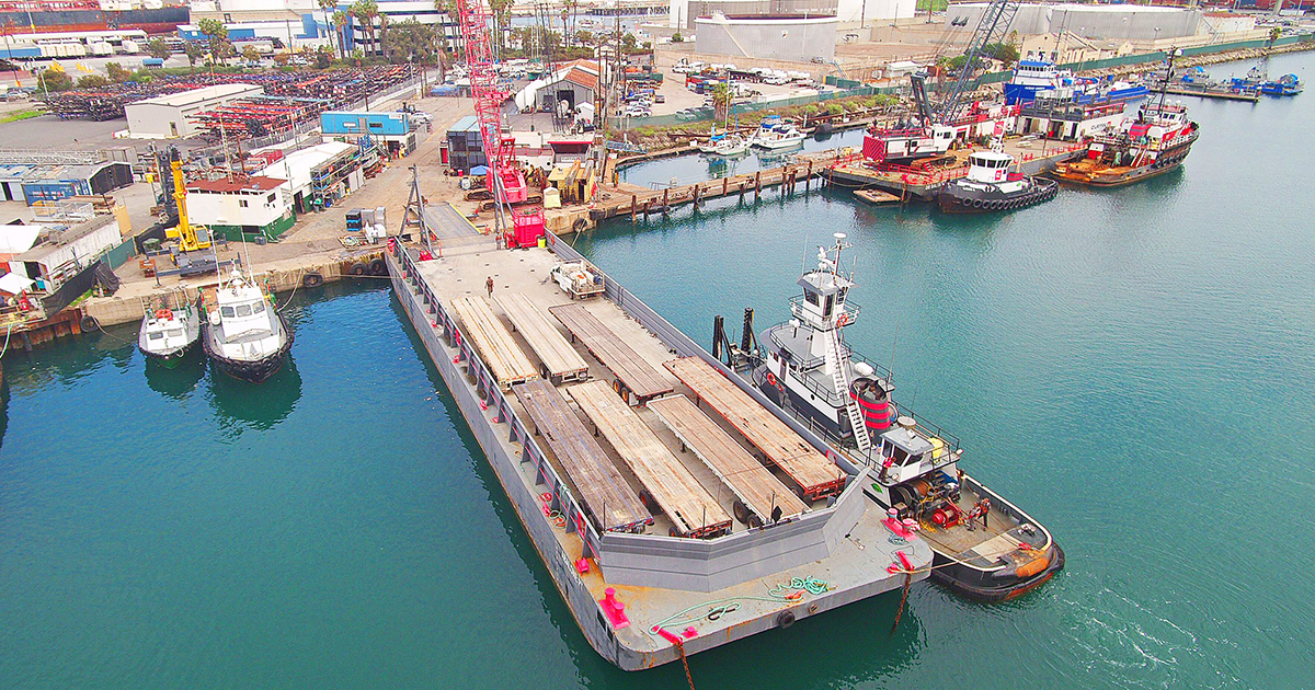 Deck Barges - ABS Class Ocean Barges - Curtin Maritime, Corp